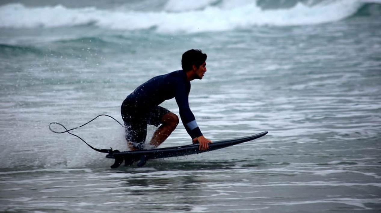 Дъска за сърф със сърце от Samsung