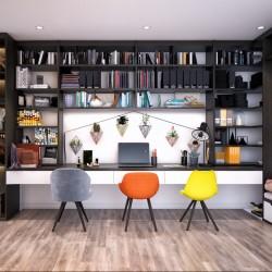 Няколко вдъхновяващи идеи за домашен офис