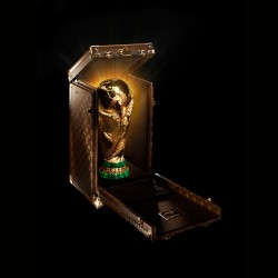 Louis Vuitton case for World Cup trophy