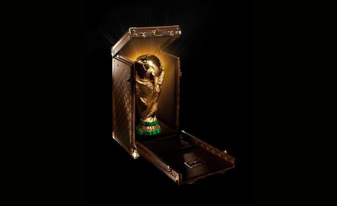 Louis Vuitton case for World Cup trophy