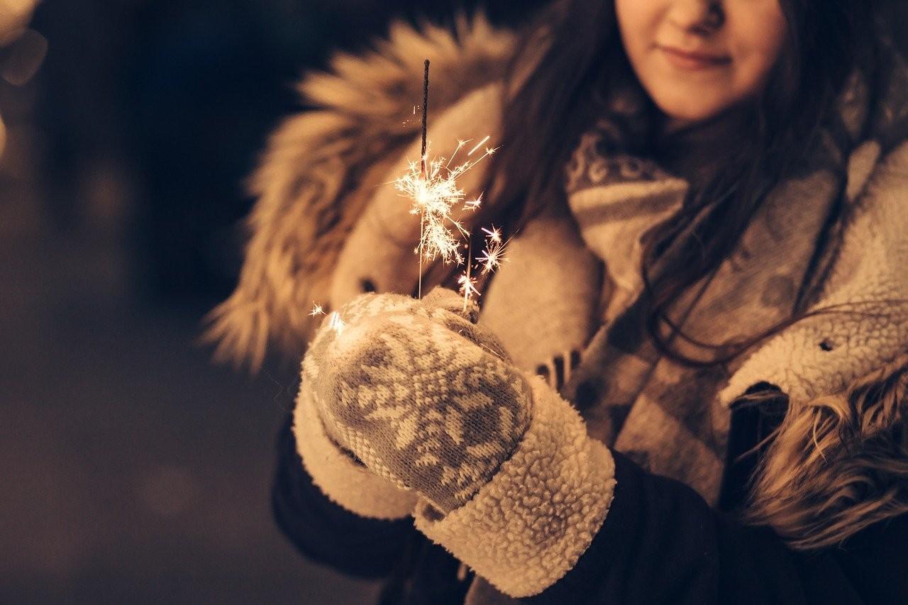 Снежна коледна нощ в Лондон