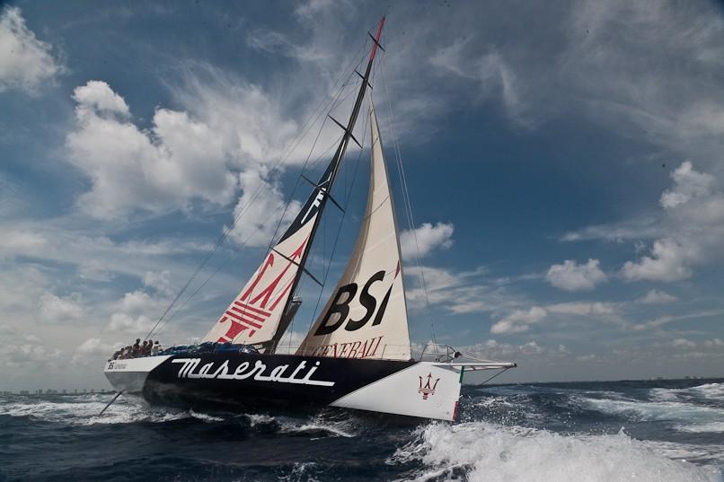 Maserati sets world record journey from New York to San Francisco