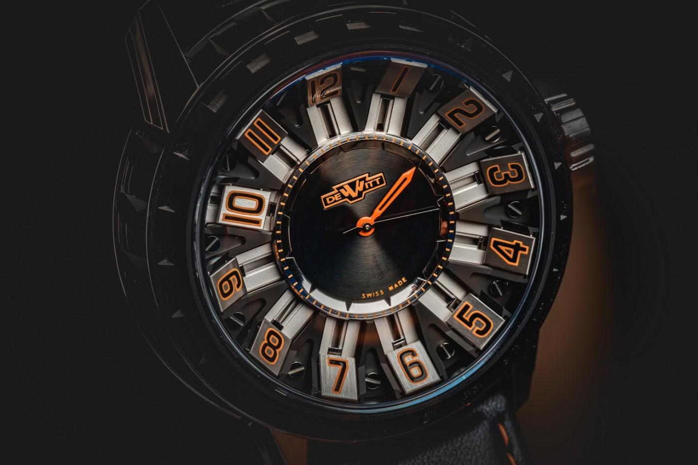 часовник DeWitt, Academia Slide