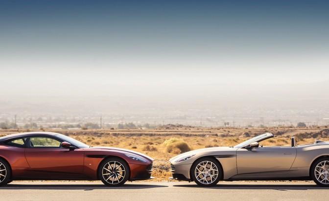 "Aston Martin не признават ""тавани"" с новата си DB11 Volante"