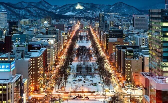 Япония – екзотика през зимата