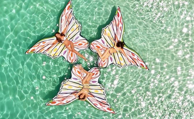 Да плуваш на крилете на пеперуда