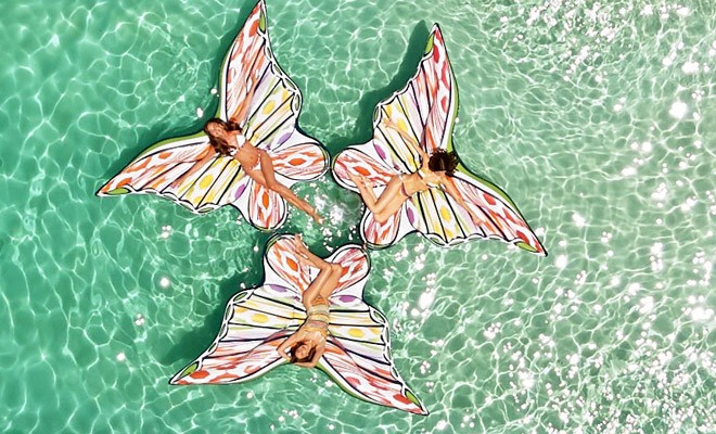 Да плуваш на крилете на пеперуда - 1