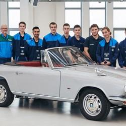Реставрираха един от най-редките ретро автомобили в света - 4
