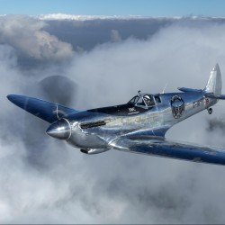 """Silver Spitfire"": Restoration of iconic aircraft complete"