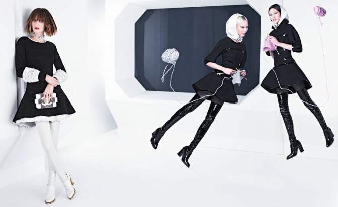 Chanel campaign shot by Karl Lagerfeld unveiled