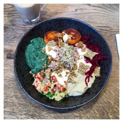 Healthy food and celebrity spotting at Farmacy London - 2