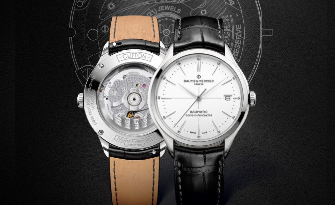 Baume & Mercier's new addition: premium quality at affordable price
