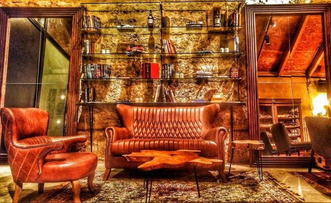 Стената на уискито, или провокация за всички сетива