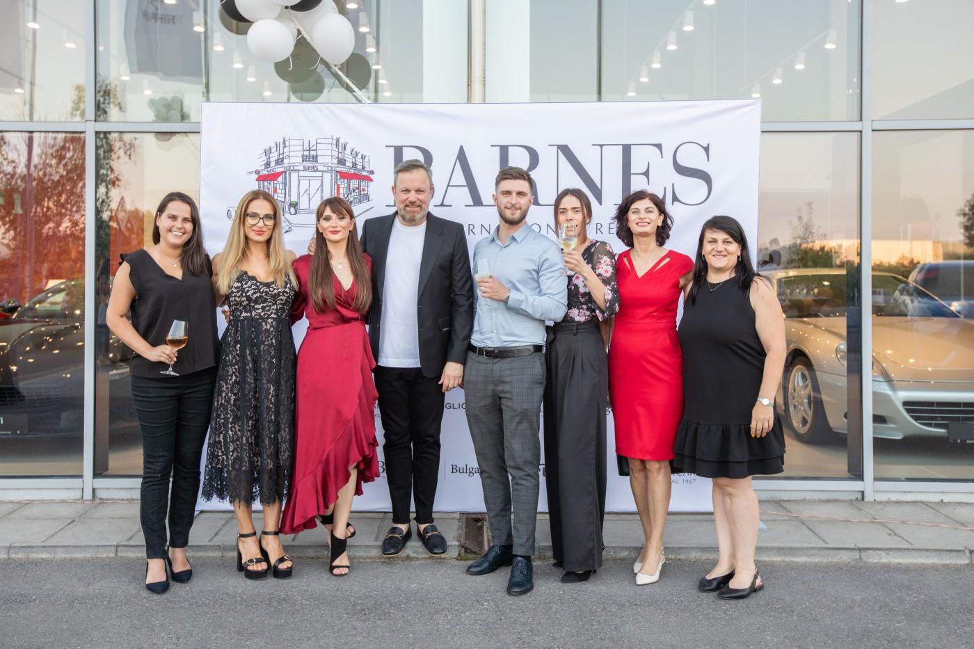 BARNES International отбеляза 1 година присъствие в България