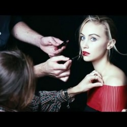 Sarah Gadon in the World of Giorgio Armani