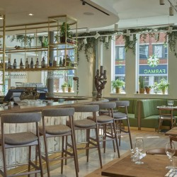 Healthy food and celebrity spotting at Farmacy London