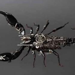 Паяк с часовников механизъм - 2