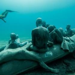 Политически лайтмотив зад първия подводен музей в Европа