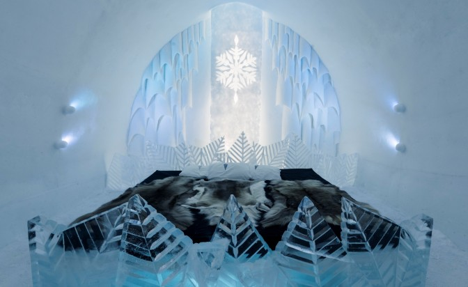 Sweden's Ice hotel to let guests design their suites