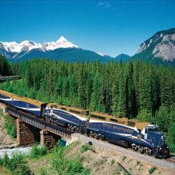 Из Скалистите планини с влак, но не какъв да е (ВИДЕО)