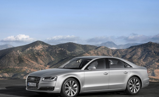 It's the new Audi A8