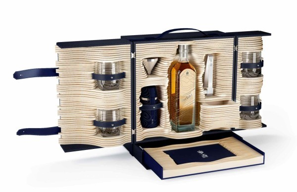 Alfred Dunhill and Johnnie Walker created limited edition trunk