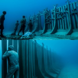 Политически лайтмотив зад първия подводен музей в Европа - 2
