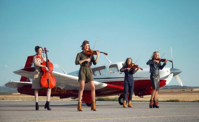 Тина Търнър аплодира Destiny Quartet