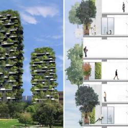 Горски небостъргачи изпълват Милано със зеленина - 2