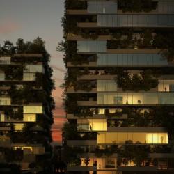 Горски небостъргачи изпълват Милано със зеленина - 3