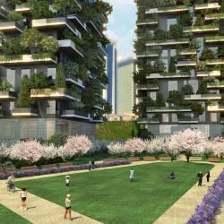 Горски небостъргачи изпълват Милано със зеленина - 4