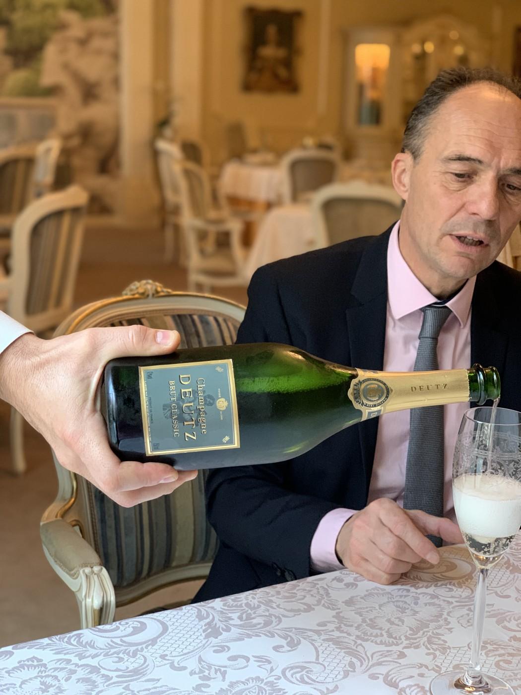 Глътка съвършенство – шампанско Deutz