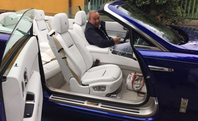 Тест драйв с новия Rolls Royce Dawn