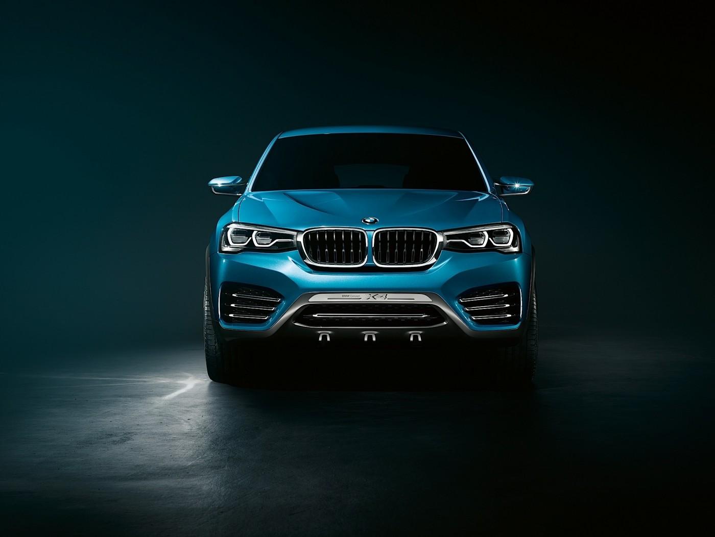 BMW unveils the X4 Concept