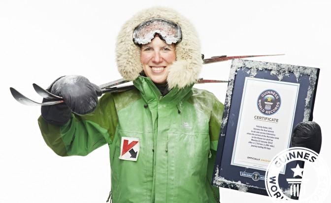 Фелисити Астън: Любопитство oт Южния до Северния полюс