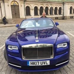 Тест драйв с новия Rolls Royce Dawn - 3