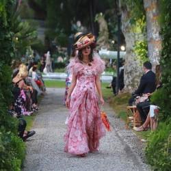 Как езерото Комо се оказа фон на три пищни ревюта на Dolce & Gabbana - 8
