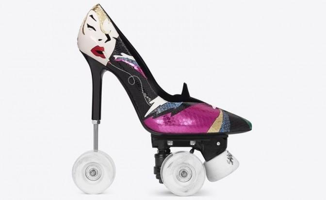 Невъзможните обувки на Yves Saint Laurent