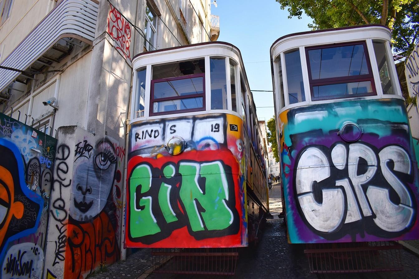 трамвай Португалия Лисабон