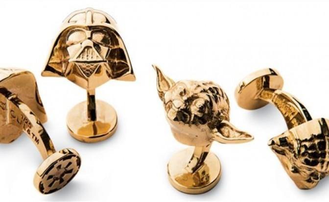 14K Gold Star Wars Cufflinks