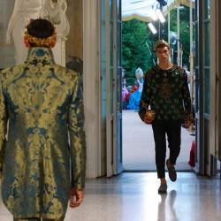 Как езерото Комо се оказа фон на три пищни ревюта на Dolce & Gabbana - 10