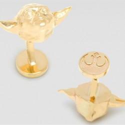14K Gold Star Wars Cufflinks - 3