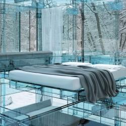 Стъклен дом от Santambrogio - 2