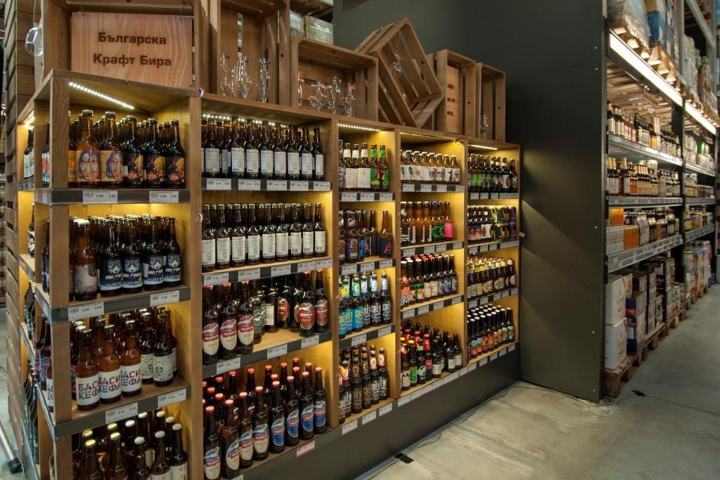 бира, пиво, крафт, бар, магазин, МЕТРО