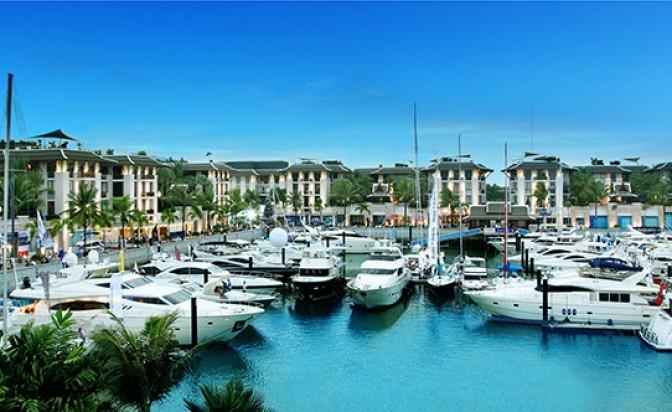 Над 50 супер луксозни яхти акостираха на остров Пукет за новата 2018-та година