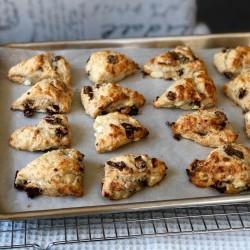 """Есенни рецепти с био кисело мляко и сирене - Scones """"Рукатка"""""""