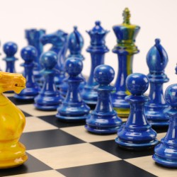 Purling London: chess and art