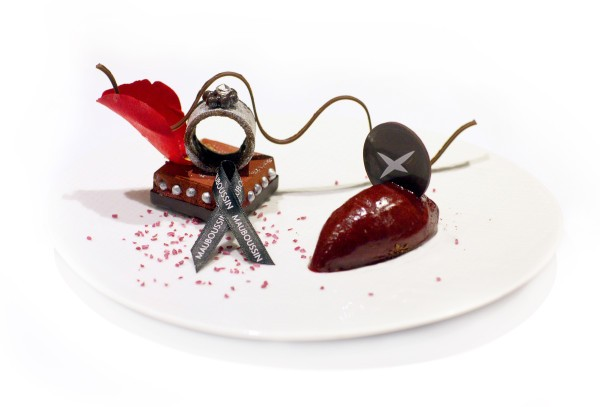 A dessert inspired by jeweler Mauboussin