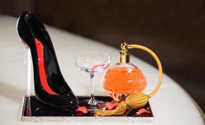 Cocktail on high-heels