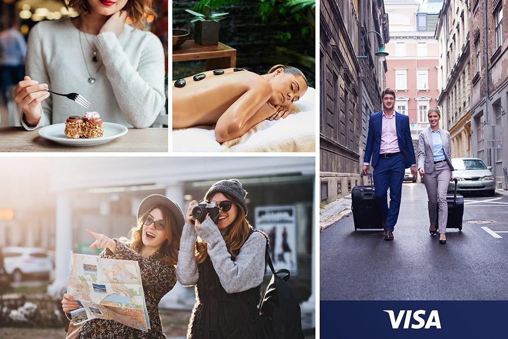 Топли комплименти от Visa Premium